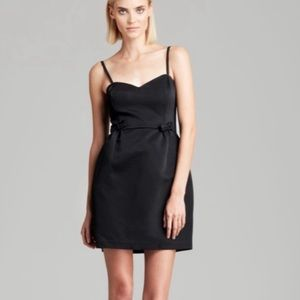French connection bow mini dress